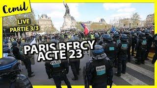 LIVE 3 (FIN) GILETS JAUNES PARIS RÉPUBLIQUE