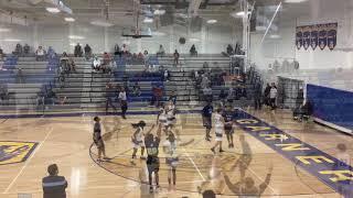 Chris Daniels Millbrook 2021 PG HighSchool OT Garner Showcase 2019