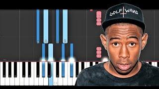 Tyler, The Creator - EARFQUAKE (Piano Tutorial)
