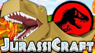 THE MOST DANGEROUS DINOSAUR EVER - MODDED MINECRAFT DINOS JURASSIC PARK #2