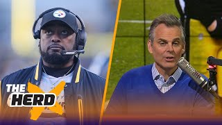 Colin Cowherd on Mike Tomlin's coaching in Pittsburgh's playoff loss to the Jaguars | THE HERD