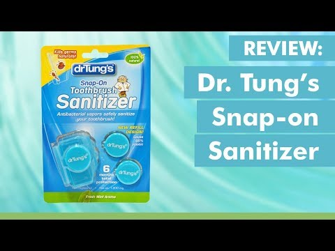 Why I Love the Dr. Tung's Snap-on Sanitizer