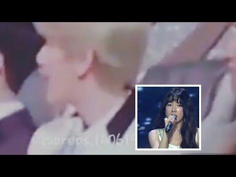 Baekhyun reaction Taeyeon