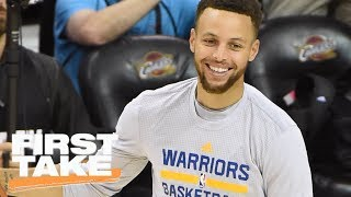 Vegas Likes Warriors Over '95-96 Bulls | First Take | June 6, 2017