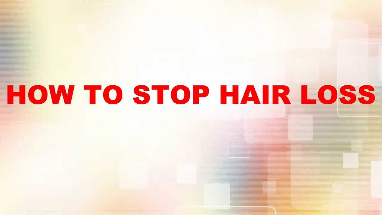 How To Stop Loss Hair Hair Thinning In Men And Women