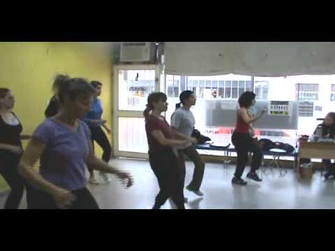 Almendra Fitness - Ritmos c/Cynthia Alegre - 2º pasada salsa & pasos rock 'n' roll