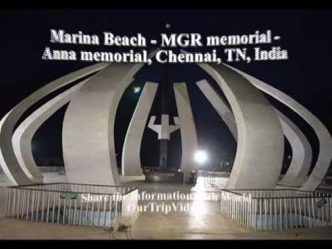 Pictures of Marina Beach - MGR and Anna Memorial, Chennai, TN, India