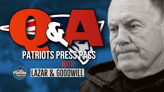 Patriots LIVE Q&A with Evan Lazar & Sierra Goodwill