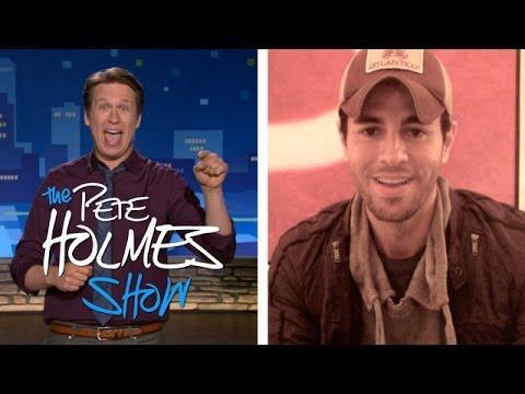 Enrique Iglesias's Message For Pete - Smashpipe Comedy
