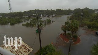 Hurricane Michael's outer bands lash Florida's gulf coast