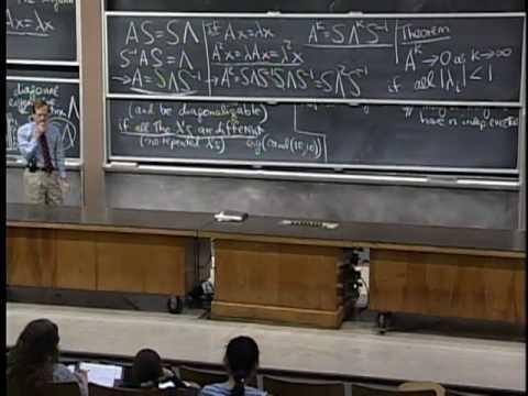 Baixar Lec 22 | MIT 18.06 Linear Algebra, Spring 2005