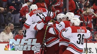 NHL Stanley Cup Playoffs 2019: Hurricanes vs. Capitals   Game 7 Highlights   NBC Sports