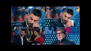 KBC 9: Yuvraj Singh & Amitabh Bachchan CRY in the show..