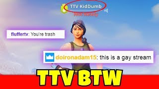 i finally put TTV in my name and people said this... (mean)