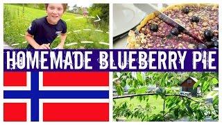 NORWAY - HOMEMADE BLUEBERRY PIE  |  twoplustwocrew
