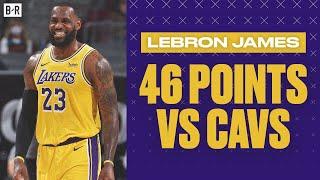 LeBron James Erupts for 46 Points vs. Cavs, 21 Points in Fourth Quarter