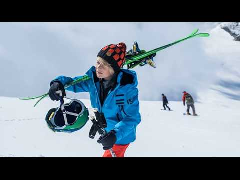 Reima Morgen Boys Ski Jacket in Blue