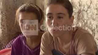 IRAQ: GIRL REFUGEE FOUND AFTER ESCAPE