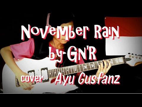 November Rain By Guns N' Roses cover Ayu Gusfanz (11 Years Old)