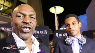 MIKE TYSON SAYS LOMACHENKO IS THE BEST FIGHTER IN THE WORLD & HIS FAVORITE TO WATCH