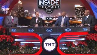 Inside The NBA talks about Kobe yellng at his teammates in practice