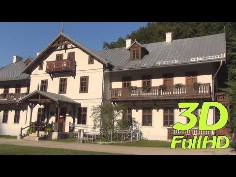 [3DHD] Walking Tour / Spacer: Ojcow, Ojcow National Park, Poland / Ojców, Ojcowski Park Narodowy