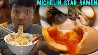 MICHELIN Star RAMEN & SOBA Noodle Tour of Tokyo Japan