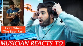 Musician Reacts To Olivia Rodrigo +Joshua Bassett | Even When/The Best Part