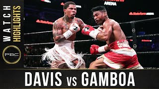 Davis vs Gamboa HIGHLIGHTS: December 28, 2019 - PBC on Showtime