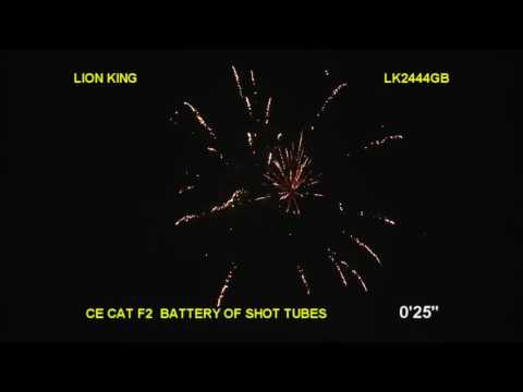 Brothers Pyrotechnics Lion King - 35 shot firework
