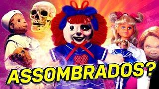 BRINQUEDOS ANTIGOS SUPOSTAMENTE ASSOMBRADOS!