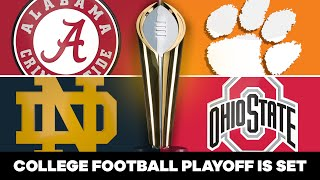 College Football Playoff is SET; did committee get it right?! | CBS Sports HQ
