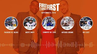First Things First Audio Podcast(9.05.19) Cris Carter, Nick Wright, Jenna Wolfe | FIRST THINGS FIRST