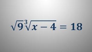 Iracionalna enačba 7