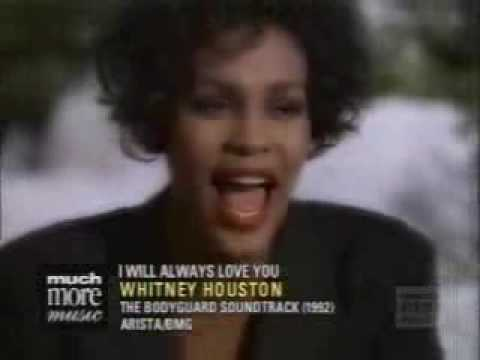 I Will Always Love You Whitney Houston Video The Bodyguard