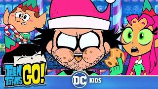 Teen Titans Go! | Naughty Elves And Santa Claus | DC Kids