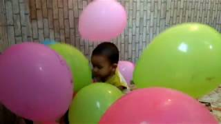 Learn Colors with Balloons and Nursery Rhyme & kids songs