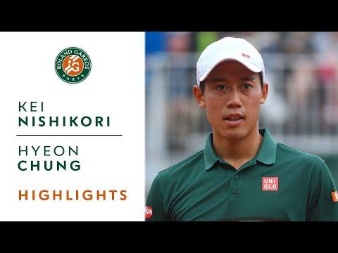 Hyeon Chung vs Kei Nishikori