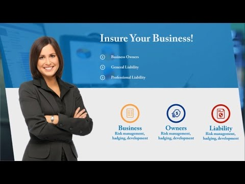 Insurance Corporate Video - After Effects Template