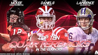 Top 10 Quarterbacks in the Country