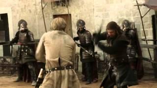 Ned Stark vs Jaime Lannister - Game of Thrones 1x05 (HD)
