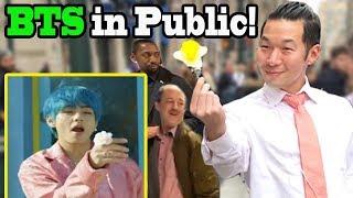 "BTS ""Boy with Luv"" feat Halsey - BTS Dance in Public!!"