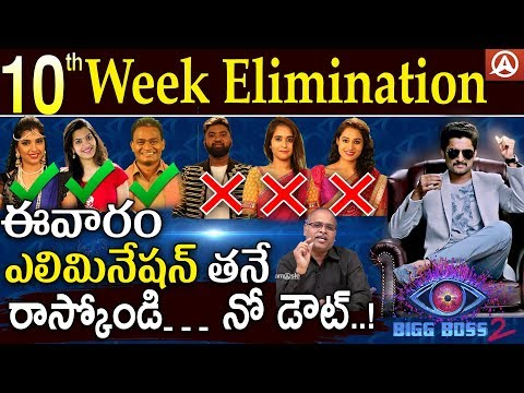 10th Week Elimination Analysis | Bigg Boss Telugu Season 2