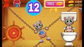 New. Kick The Buddy Game - Face of - Talking Tom | Walkthrough part 1 Unlock All Machines (iOS)