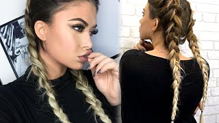 How to Double Dutch Braid with Bellami extensions