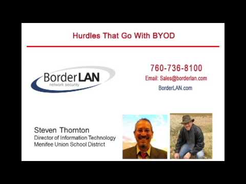 Hurdles that go with BYOD