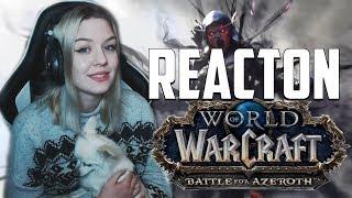 Battle for Azeroth Trailer Reaction