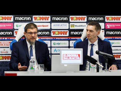 Konferencija za medije Nadzornog odbora HNK Hajduk
