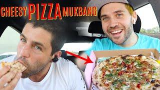 CHEESY PIZZA TASTE TEST with JOSH PECK and UGH ITS JOE!!