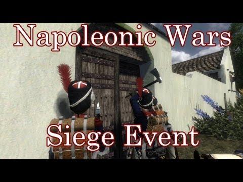 Mount & Blade: Napoleonic Wars Siege Battle - Thursday 7th March - 77y Regiment
